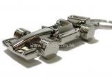 賽車形F1金屬匙扣