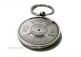 50年曆金屬匙扣