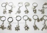 12生肖金屬匙扣