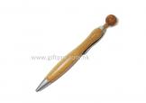 環保圓頭竹製原子筆