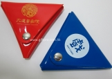 特色三角形PVC錢包