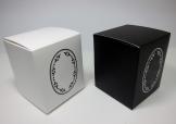 特色黑白壓紋摺盒