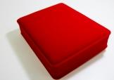 紅色絨面盒(頸鍊)