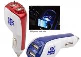 車用雙插USB充電器