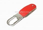 PU USB連金屬扣