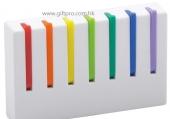 7色彩虹鎖匙掛勾