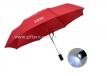 廣告短傘自動開關連LED電筒