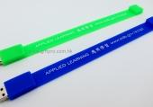 PVC軟膠手帶USB