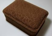 特式石紋絨面手鐲盒